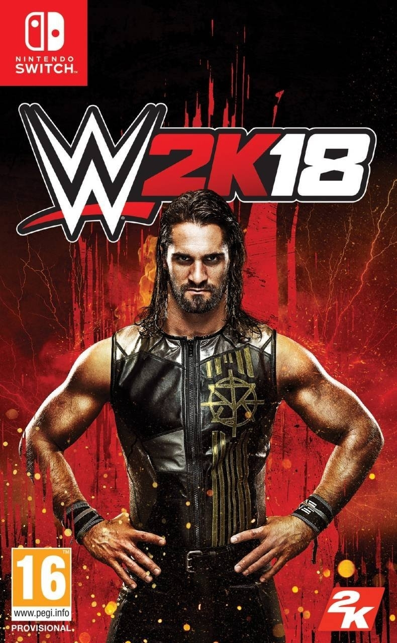 W' 2K18 WWE 2018 Nintendo Switch